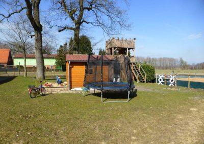 Reitferien Urlaub mit Pferd Hemmoor Cuxhaven Cuxland Hof Postel